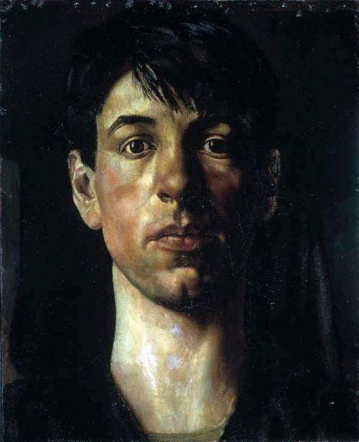 Spencer, Stanley (1891-1959) - 1914 Self Portrait (Tate Gallery, London) by RasMarley, via Flickr