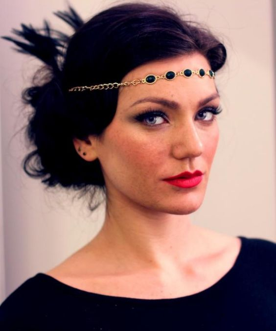 Great Gatsby Downtown Abbey... 20u0026#39;s Hair U0026 Makeup Is So In For Special Events And Weddings ...