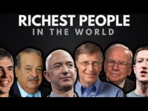 Top 20 Richest People In The World In 2018 With Their Net Worth In