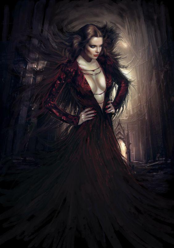 Vampire countess by ~TheBastardSon on deviantART | Fantasy ...