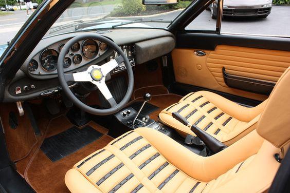 Interior 1974 Ferrari-Dino 246 GTS
