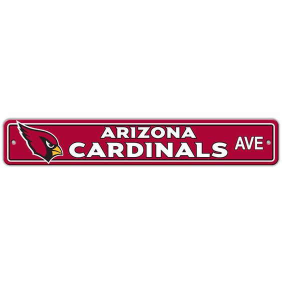Arizona Cardinals Street Sign - 4'x24""