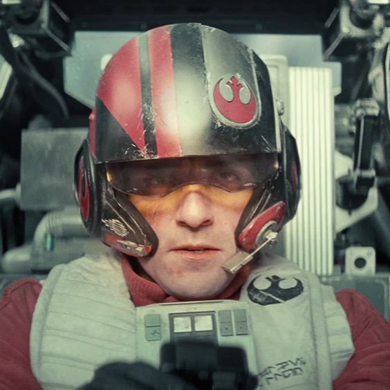 You got: Poe Dameron You're probably a good, dependable person with a heroic spirit. I mean, look at this guy – he's flying an X-Wing and has a great chin. That's the chin of a hero, my friend.