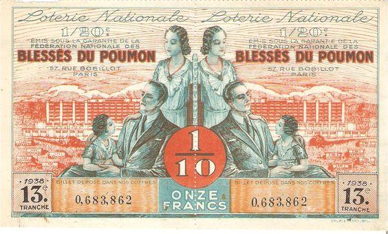 Resultado de imagen de billetes loteria antiguos