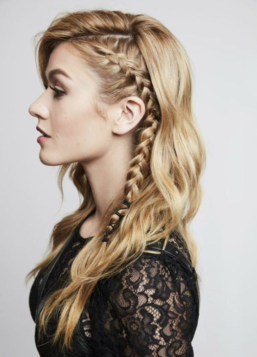 28 Cool Hairstyles Vikings To Reflect Your Inner Strength In 2020 Viking Hair Hair Styles Braided Hairstyles