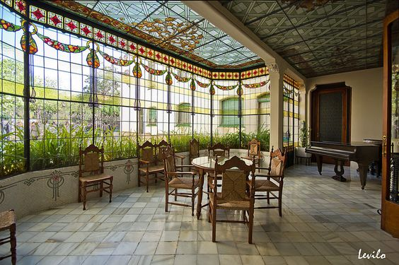 Terrassa - Casa Alegre de Sagrera | Flickr - Photo Sharing!