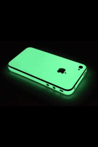 Glow in the dark iPhone case. It's not really part of a closet, but oh well.