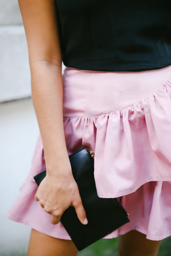 Before & After: the Ruffle Skirt