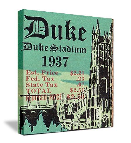 Duke football tickets. The best vintage football tickets are at http://www.shop.47straightposters.com/North-Carolina-Football-Tickets-Duke-UNC-WF-and-NC-State_c30.htm