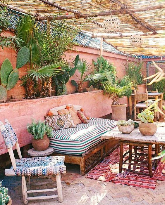 boheemse tuin