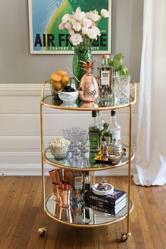 Decorismo Bar Stand Fashionismo In 2020 Home Bar Decor Bar Cart Decor Living Room Bar