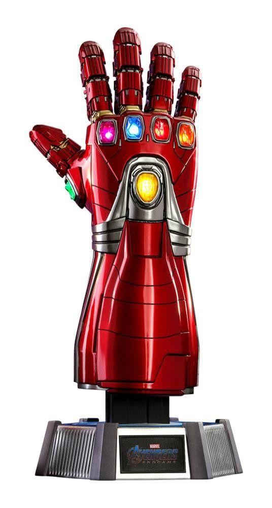 Avengers Endgame Life Size Masterpiece Replica 1 1 Nano Gauntlet 52 Cm Hot Toys Iron Man Marvel Collectibles Iron Man