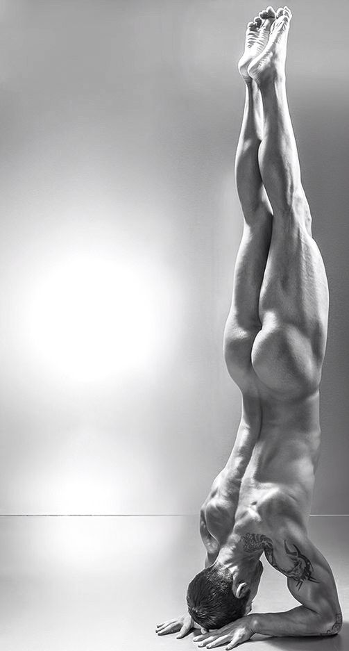 Image result for nude yoga male