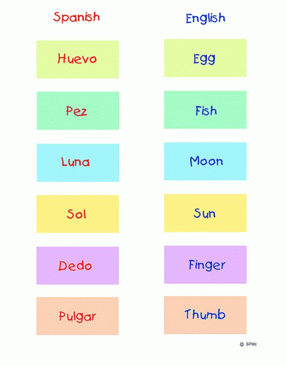 Printables Spanish To English Worksheets worksheet spanish english word match game and printable print on magnetic paper to reuse