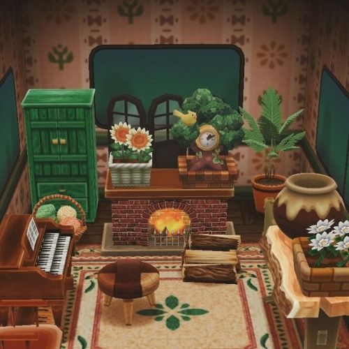 Looks Like Dan Let Phil Design The Living Room Animal Crossing