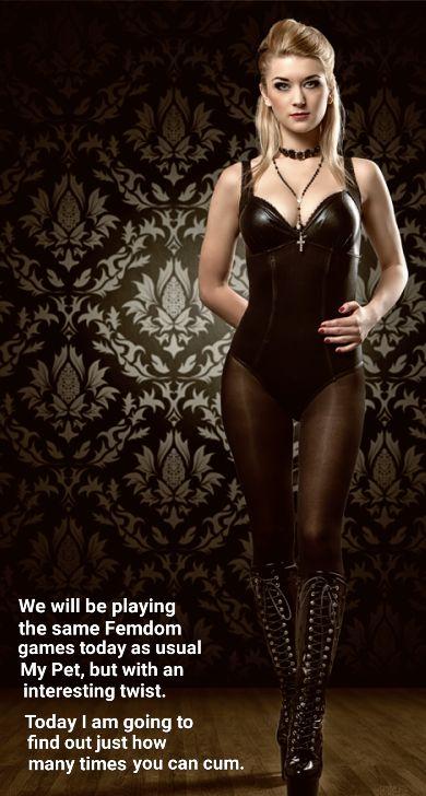 Femdom Chastity Play