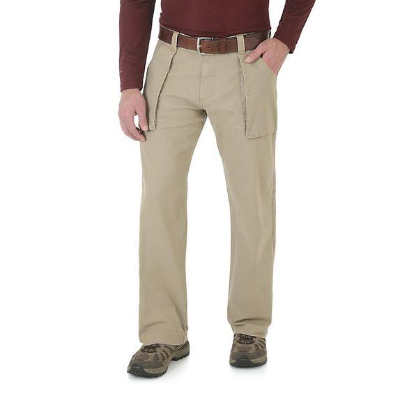 Wrangler Men's AllTerrain Ridgetrckr Pant Pants (Size: 32x32) Khaki