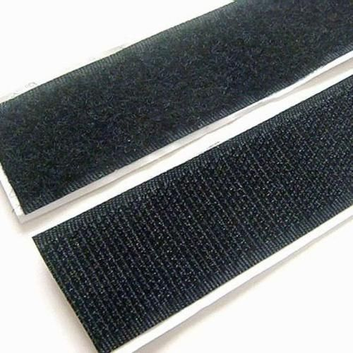 Strenco 2 Adhesive Black Hook And Loop Tape 5 Yards Hook And Loop Tape Sticky Back Adhesive
