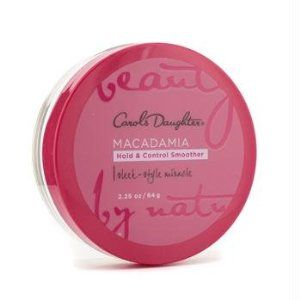 Carol's Daughter Macadamia Hold & Control Smoother. A mixture of gel-wax-pomade to smooth hair edges. Great ingredients - hands-down the best hair product I've ever tried. Got it in a JLSP event goodie bag :)