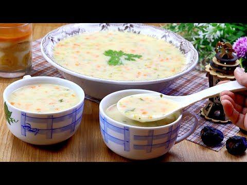 شوربة الخضار البيضاء الصحية بدون لحوم كريما حليب او مرقة Youtube Cooking Food Cookbook