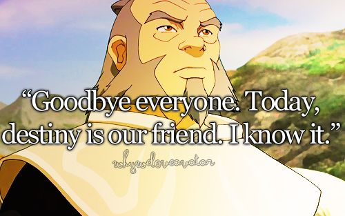 General Iroh was and is a great man.