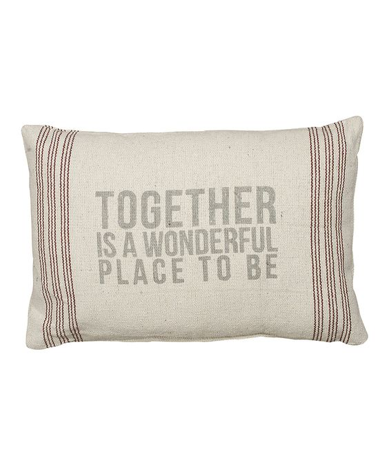 'Together' Pillow