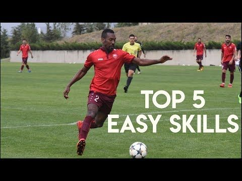 Top 5 Easy Skill Moves For Strikers Youtube Soccer Dribbling Drills Soccer Drills Striker