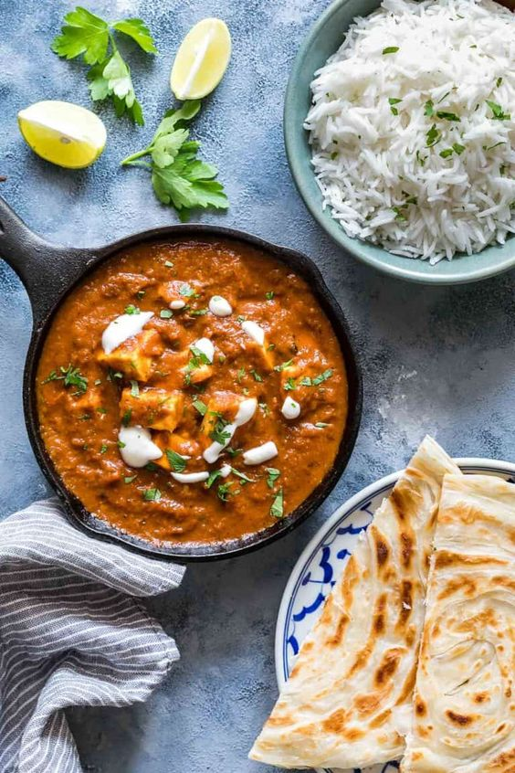 Paneer Masala Curry Recipe