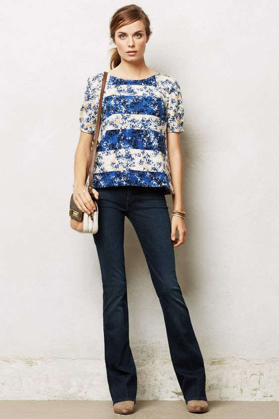 Mother Runaway Flare Jeans - anthropologie.com