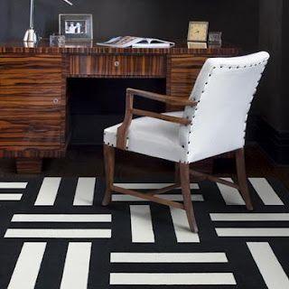 wood grain with carpet tiles