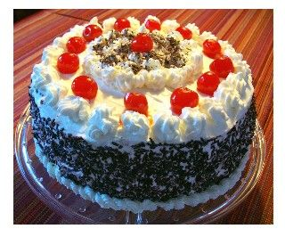 Easiest Black Forest Cake  -- the German traditional cake made with a cake mix, pie filling, and whipping cream. So easy!