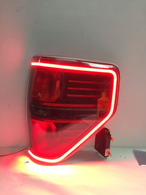 f150 and raptor tail lights are here these modified oem tail lights. Black Bedroom Furniture Sets. Home Design Ideas