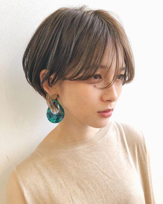 短めヘアでも色っぽい 女っぽ センシュアルショート 10選