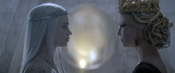 Emily Blunt and Charlize Theron in The Huntsman Winter's War