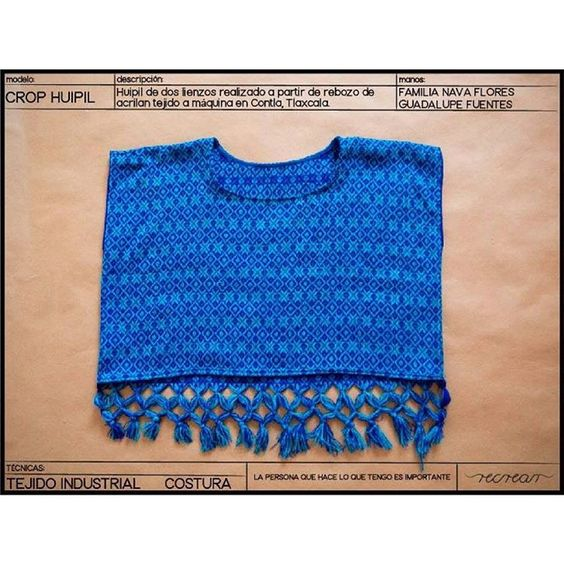 Crop huipil ya disponible en #kichink #textil #textile #textiles #textiledesigns #diseñotextil #telar #huipil  www.kichink.com/stores/recrear