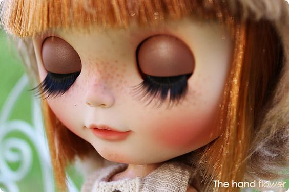 OOAK Custom Original Takara Blythe doll Odekake por Thehandflower