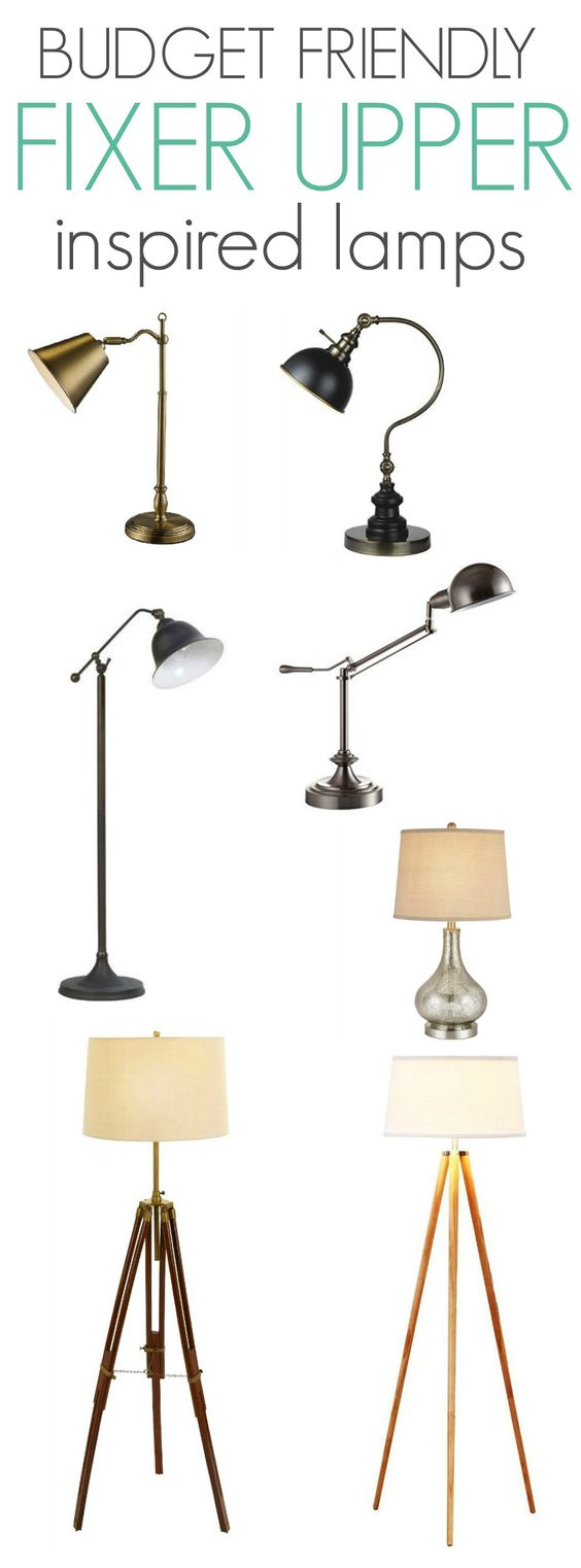 Budget Friendly Fixer Upper Inspired Lamps Home Tvs And