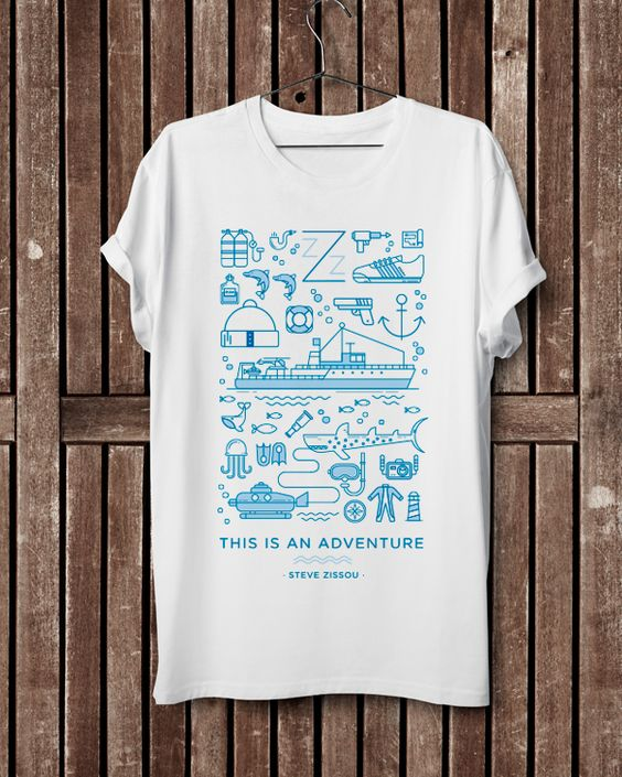 Camiseta  Zissou Icon