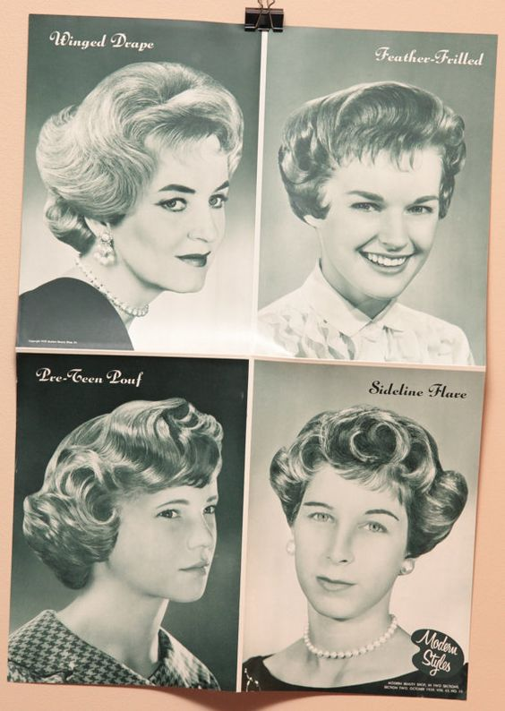 ... salons style vintage vintage hair etsy hair style hair poster salons