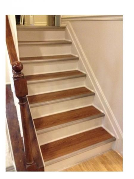 Refinished Stairs Do It Yourself Home Projects From Ana