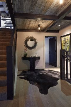 Tahoe Modern - rustic - Entry - San Francisco - Artistic Designs for Living, Tineke Triggs
