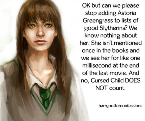 Ok But Can We Please Stop Adding Astoria Greengrass To Lists Of Harry Potter Facts Harry Potter Memes Hilarious Harry