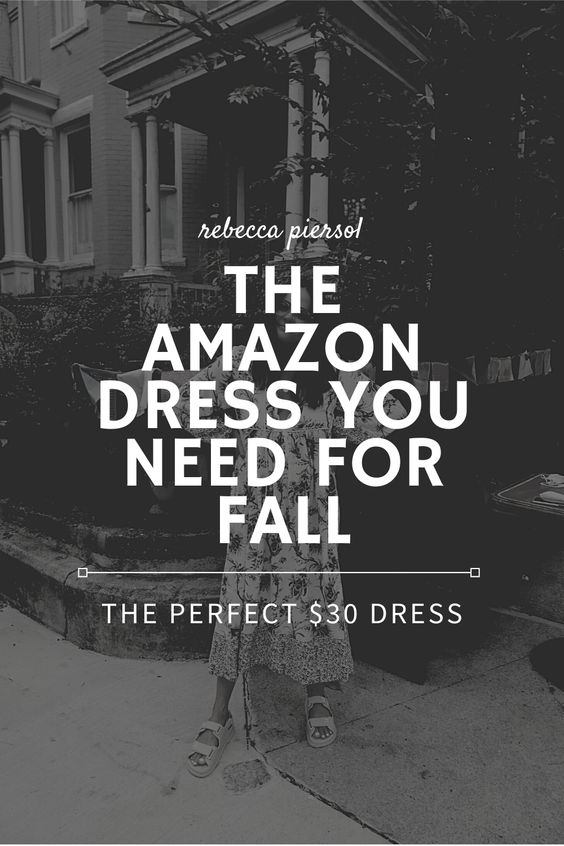 Amazon Dress For Fall