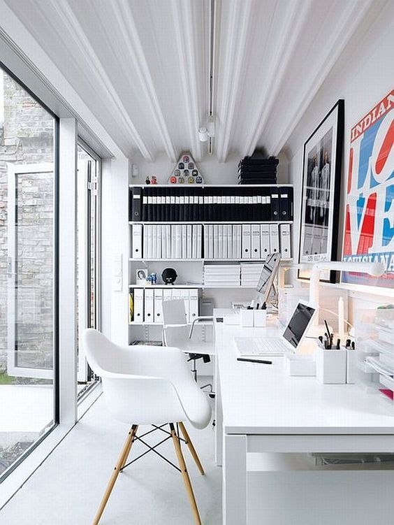 Workspace in a shipping container