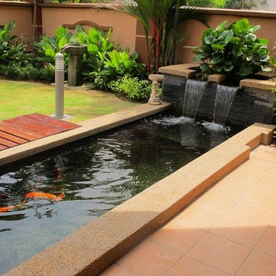 12 Creative Koi Pond Designs You Can Build Yourself To Complete Your Gardens Koi Pond Designs Designs In 2020 Ponds Backyard Backyard Garden Design Koi Pond Design