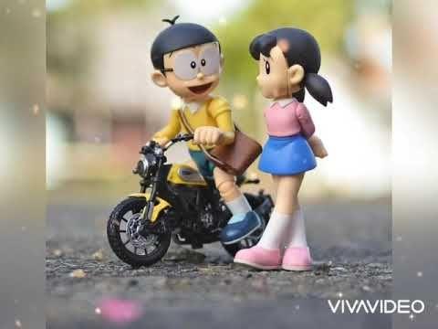 Khaab Akhil Nobita Shizuka Doraemon Punjabi Song Status Love Song Youtube Cute Love Wallpapers Cute Cartoon Pictures Cute Cartoon Wallpapers