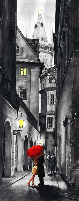 Prague Love Story ♥ ♥ www.paintingyouwithwords.com:
