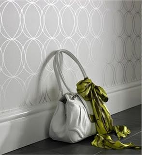 Love this wall paper... Accent wall in dining room? Hmmmmmmm.