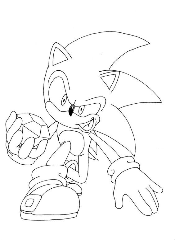 Free Printable Sonic The Hedgehog Coloring Pages For Kids Cartoon Coloring  Pages, Hedgehog Colors, Coloring Pages