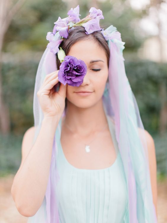 MINT and LAVENDER by Rensche Mari